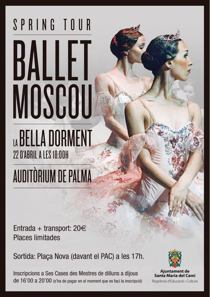 [Sortida] Ballet de Moscou - La bella dorment @ Auditòrium de Palma