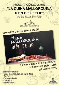 """[Presentació] """"La cuina mallorquina d'en Biel Felip"""", de Biel Roca i Biel Felip @ Ses Cases des Mestres"""