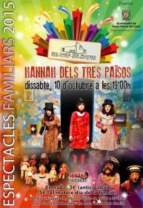 Teatre: Hanna dels tres països @ Ses Cases des Mestres