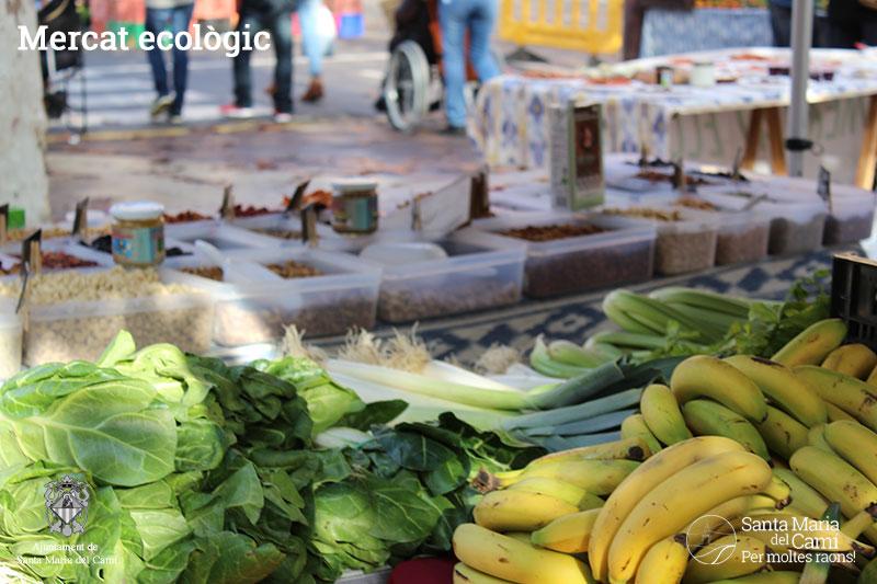 8è aniversari mercat ecològic de Santa Maria