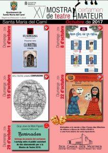 [Teatre] Entremesos, de Llorenç Moyà. Companyia UOM Teatre @ Ses Cases des Mestres | Santa Maria del Camí | Illes Balears | Espanya