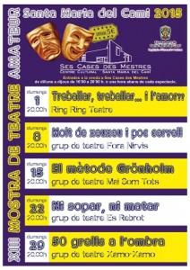 """Mostra de teatre amateur: """"50 ombres de grells"""", del grup Xamo-Xamo @ Ses Cases des Mestres"""