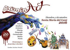 CaminArt: nit de l'art a Santa Maria