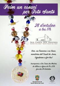 [Taller] Feim un rosari per Tots Sants @ Ses Cases des Mestres