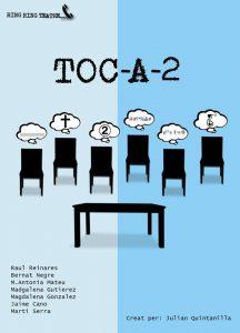 [Teatre] Toc-a-dos, de Ring Ring Teatre @ Ses Cases des Mestres