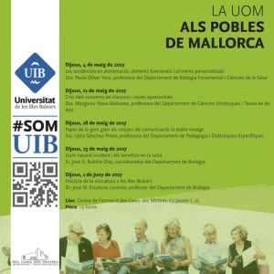 [UOM] LLum natural incident i els beneficis en la salut @ Ses Cases des Mestres